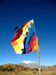 Bandera de los pueblos originarios.