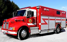 kenworth medium duty 2001 kenworth pierce walk in rescue command fire apparatus