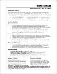 Administrative Assistant Resume Objective Examples by Professional Cv Examples Free Cv Examples Templates Creative