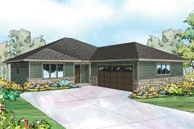 Split Level Ranch Floor Plans Prairie Style House Plans Denver 30 952 Associated Designs
