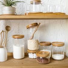kitchen room large glass jar canister sets for kitchen walmart