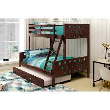 Full Size Trundle Bed Frame Bedroom Marvelous Donco Kids Design For Kids Bedroom Ideas