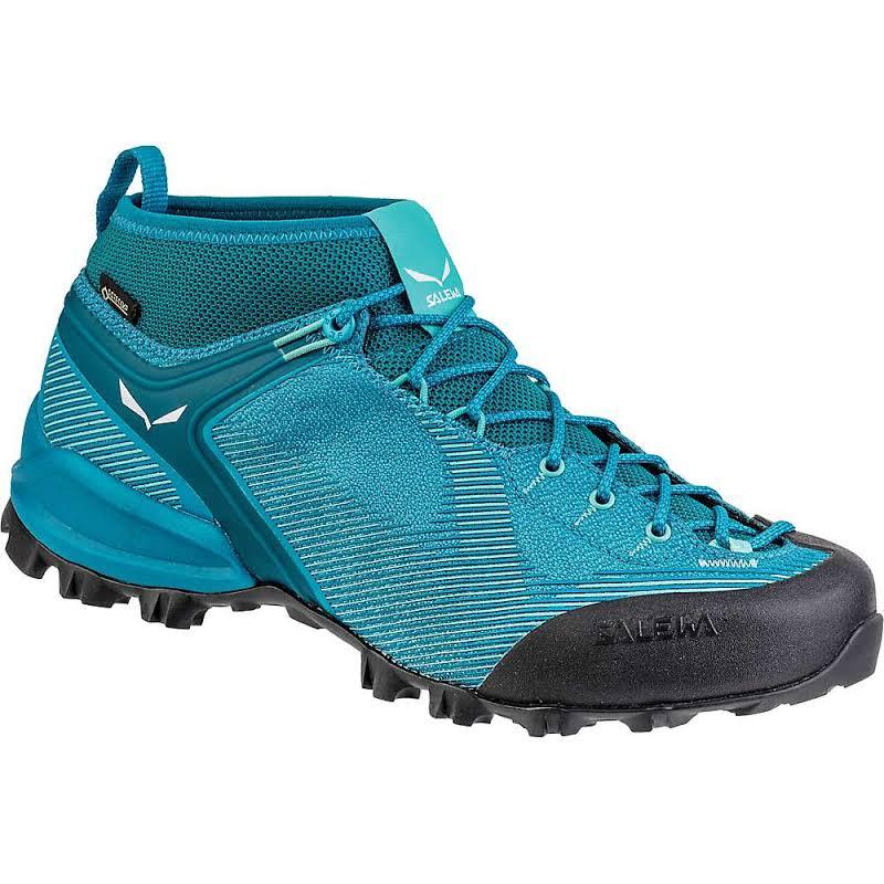 Salewa Alpenviolet GTX Mountaineering Shoes Malta/Lagoon Green 7 00-0000061345-8737-7
