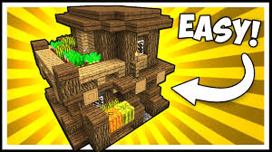compact u0026 efficient wooden house minecraft tutorial youtube