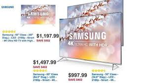 best deals on tvs on black friday buy black friday deals on samsung ks8000 suhd 4k hdr tvs sell early