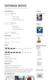 Sample Babysitter Resume by Babysitter Resume Samples Visualcv Resume Samples Database