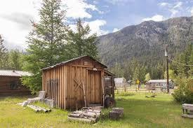 Tiny Cabin Tiny Cabin Near Gold Mine In Yellow Pine