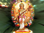 Wallpapers Backgrounds - Maa Saraswati Wallpapers Pictures Goddess