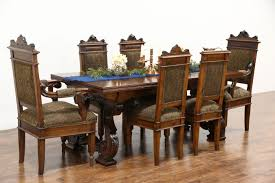 sold renaissance carved antique italian dining or library table