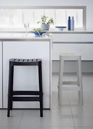 Kitchen Bar Design by Black And White Bar Stools U2013 How To Choose And Use Them