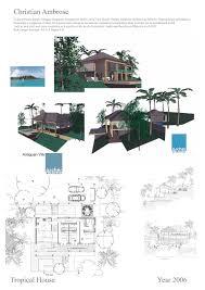tropical house designs christian ambrose