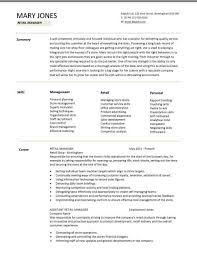 Assistant Store Manager Resume Sample instalation and repair     cover letter store manager resume example store manager resume