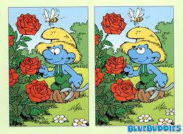 Smurf Spot the Difference spot the diffrence