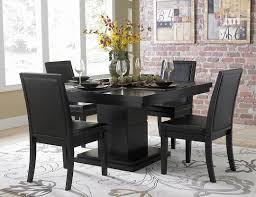 Black And White Dining Room Chairs Excellent Ideas Black Dining Room Set Surprising Black Modern Sets