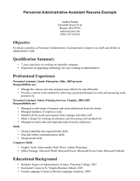 entry level resume cover letter entry level resume objective examples berathen com templates pdf executive assistant resume samples entry level administrative cover letter with no experience resumes personnel exles objective