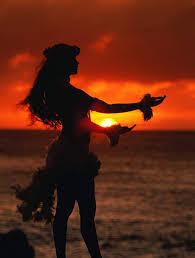 гавайська дівчина танець