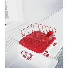 Plastic Dish Drying Rack 16 Inch 2 Tier Dish Drying Rack Kitchen Dish Cup Drying Rack