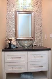 Backsplash Bathroom Ideas Colors Small Baths With Big Impact Subway Tiles Small Powder Rooms And