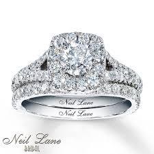 neil lane engagement rings jared neil lane bridal 1 7 8 ct tw diamonds 14k white gold