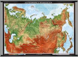 Blank Physical Map Of Russia by Eastern Europe U0026 Northern Asia Physical Former Soviet