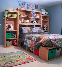 ana white full size storage bed diy projects