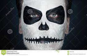 Skeleton Makeup For Halloween by Maquillage Homme Halloween 16 Id Es Pour R Ussir Une Pop Art