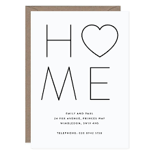 20 happy home new home personalised moving cards by lola u0027s paperie
