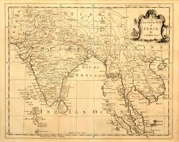 Southeast Map Old Map Of India And Southeast Asia U2014 Stock Photo Meteor 2187455