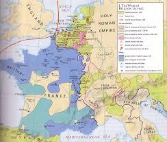 Western Europe Political Map by European Wars Of Religion 1547 1610 Https De Pinterest Com