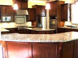 cherry cabinets in kitchen kitchens