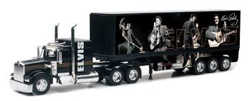 kenworth truck models amazon com new ray toys 1 32 kenworth w900 elvis presley