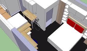 Ikea Apartment Floor Plan See Ikea U0027s Storage Maximizing Makeover Of A 300 Sq Ft Studio