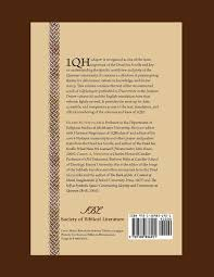 psalms of thanksgiving list the hodayot thanksgiving psalms a study edition of 1qha early
