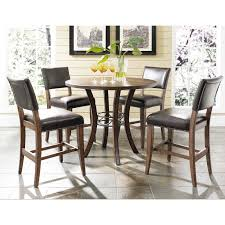 Dining Room Sets With Round Tables Hillsdale Cameron 5 Piece Counter Height Rectangle Wood Dining