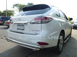 lexus rx 350 pictures vanguard 16 17 lexus rx350 rx450h rear bumper protector guard