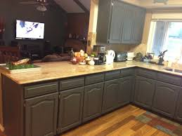 Dark Stained Kitchen Cabinets Restaining Kitchen Cabinets For A Newer Look Amazing Home Decor