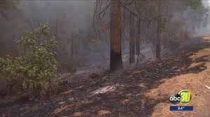 Willow Wildfire California by North Fork News Abc30 Com