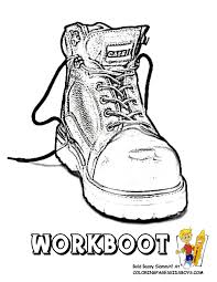 tractor coloring page of farmers work boot you can print this