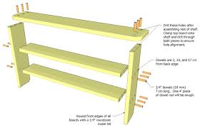 Free Woodworking Plans Shelves by 24 Perfect Woodworking Plans Shelf Egorlin Com