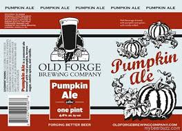 Old Forge Pumpkin Ale | Cassidy's Brew Zoo
