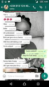 Nigerian Lady Exposes UNIPORT Lesbian Girl Who Has Been Sending     OnlineNigeria News view more articles