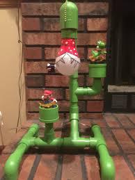 Super Mario Home Decor by Pvc Super Mario Lamp Diy Pinterest Mario Pipes And Mario Room