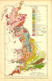 Map Of Ireland And England Geology Of Great Britain Introduction And Maps By Ian West