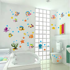popular wall stickers fish buy cheap wall stickers fish lots from free shipping diy wall stickers child real bathroom kitchen cabinet wall stickers fish china