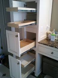 Kitchen Cabinets With Pull Out Shelves by Bathroom Cabinets Under Cabinet Organizer Roll Out Cabinet