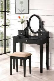 Vanity Stools With Wheels Furniture Hayworth Vanity Mirrored Vanity Chair Pier 1