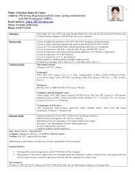 Database Administrator Resume Format Etusivu