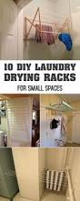 10 diy laundry drying racks for small spaces laundry drying