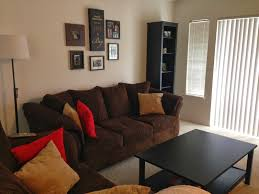 dark brown couch living room ideas in stylish home decorating