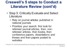 Creating A PhD Paper  Writing A Literature Review Section essay on inclusive education